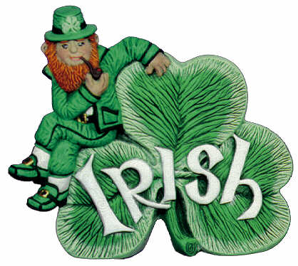 #2338 Irish Shamrock  5 1-4