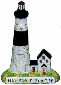#2401 Small Lighthouse - Big Sable Point Mi  4 1-4""