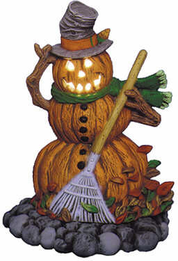 #2406 Pumpkin Person (Large) - Pumpkin Man  6 1-2
