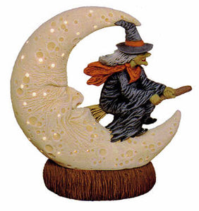 #2422 Witch in Moon  6 1-2""