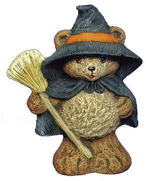 #2448 Teddy Bear Witch  4