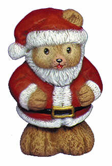 #2449 Teddy Bear Santa  4