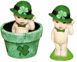 #2505 Baby Bloom - Shamrock Baby Boy  4""