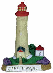 #2580 Small Lighthouse - Cape May, Nj  4""