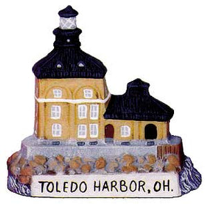 #2583 Small Lighthouse - Toledo Harbor, Oh  3 1-4""