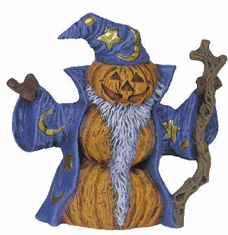 #2589 Pumpkin Person (Small) - Wizard  4