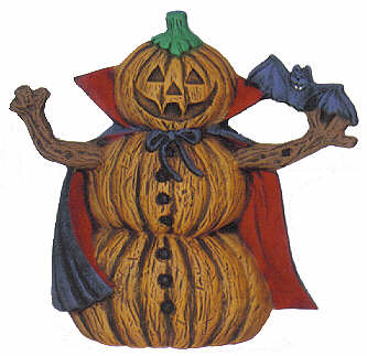 #2591 Pumpkin Person (Small) - Dracula  4