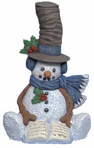 #2664 Snowman - with Hat  6 1-4""