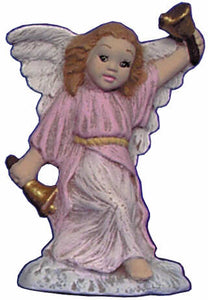 #2679 Angel Ornament, Ringing Bell  2 1-2""