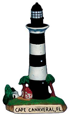 #2714 Small Lighthouse - Cape Canaveral, Fl  4