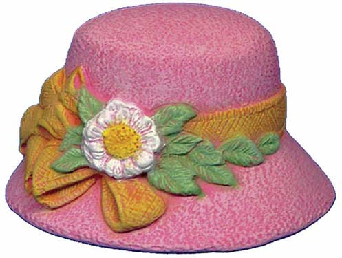 #2739 , Hat with Big Bow & Daisy  3