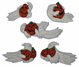 "#2784 Ghost Magnets  3"" to 4 1-2"" each"
