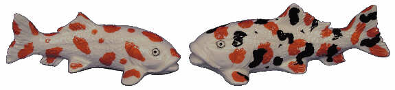 #2785 Medium Koi (2 in mold)  4