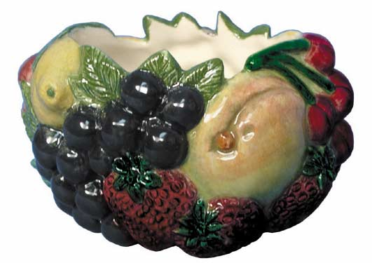 #2831 Fruit Bowl (Small)  4 1-2