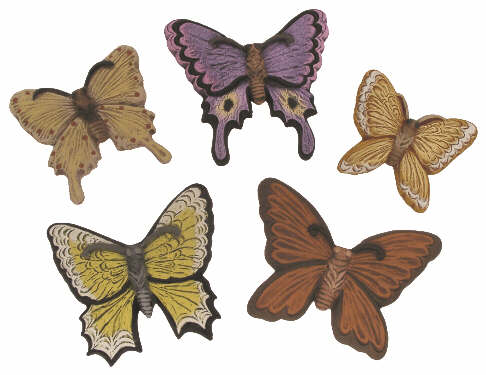 #2879 Butterfly Magnets (5 in mold)  2 3-4