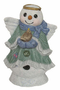 #2902 Snow Angel (Bird on 2 Hands Together)  6 3-4""