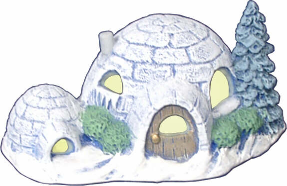 #2951 Igloo Home (Small) with Dog House  4
