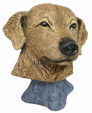 #2993 Dog Bust - Golden Retriever  4
