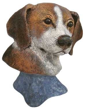 #2994 Dog Bust - Beagle  4