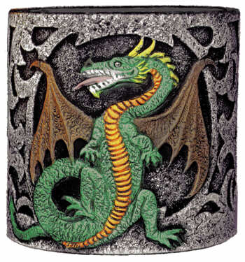#3019 Candleholder - Dragon  4