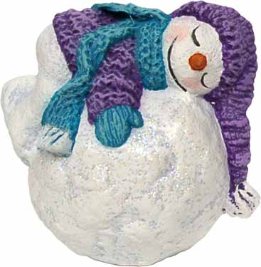#3205 Snowkid Ornament - Sleeping  2 1-2