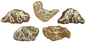 "#3252 Dinosaur Magnet Mold (5 in mold)  4"" to 4 1-2"""