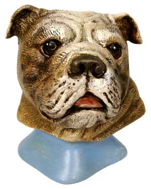#3267 Dog Bust - Bulldog  4