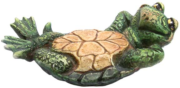 #3307 Small Attitude Turtle Laying on Back - 3-1-4