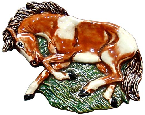 #3314 Tea Bag Holder - Horse (Full Body)  4 1-2