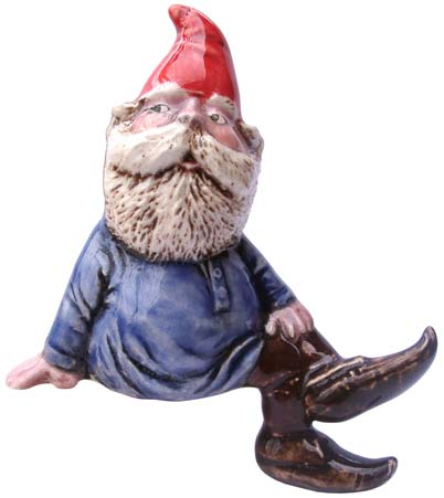 #3341 Small Attitude Gnome Legs Hang Over - 3-1-4