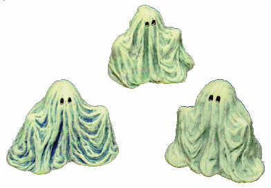 #394 Ghosts (3 in mold)  2