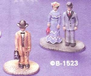 B1523 Village Couple - Country Doctor Ceramic Molds