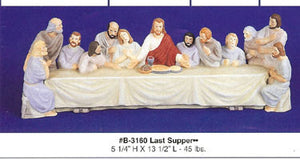 B3160 Last Supper  oo  Ceramic Molds