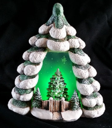 H659ACH639 Christmas Tree Ceramic Mold
