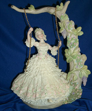 JM211 Diana-Girl on Swing Doll Molds