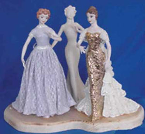 "JM245 8 1-4"" -Slim Skirt only Doll Molds"