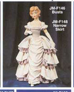 "JMF-146A 12"" 3 pair arms only DOLL Molds"