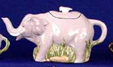 S1471 Elephant Tea Pot Ceramic Mold