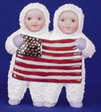 S1481 Calendar S.B. July-Flag Ceramic Mold