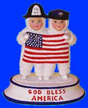 S1513 God Bless America S.B. Ceramic Mold