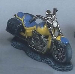 "H459ABCMotorcycle with Saddlebags 7""  Ceramic Mold"