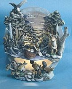 H471ABH474  Indian Group for River Light SceneCeramic Mold