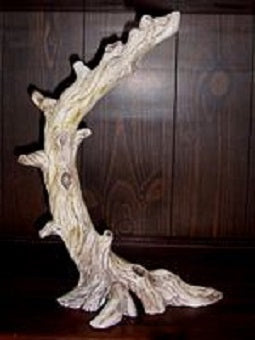 H558. Large Driftwood Stand Ceramic Mold