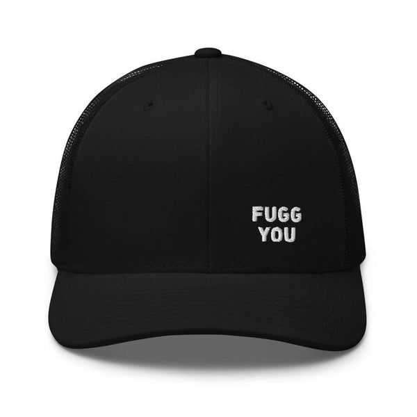 FUGG YOU - Trucker-Cap - schwarz - Fuggly