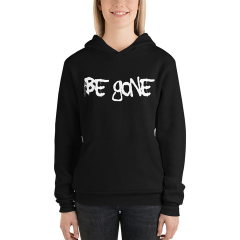 "Black ""Be Gone"" Hoodie"