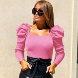 Elegant Cropped Blouse