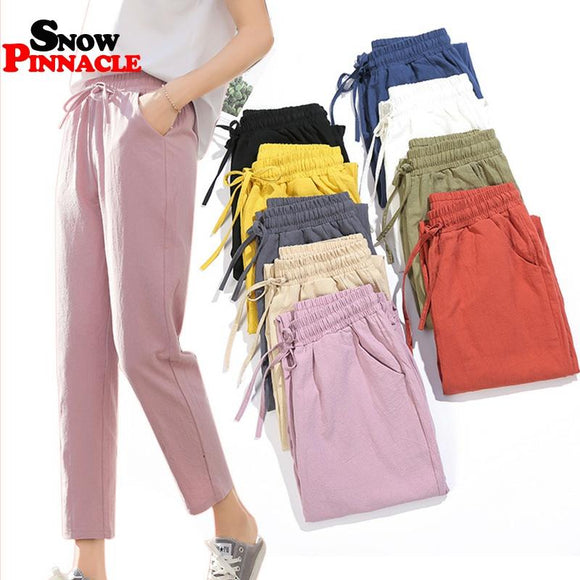 Cotton Spring/Summer Pants