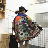 Printed Throw-over