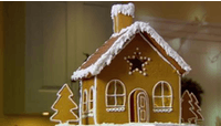 Have fun making gingerbread houses with kids