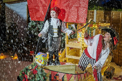 TP Pirate Playhouse gets Christmas Makeover
